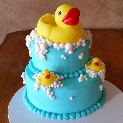 Phenomenal 11 Easy Duck Cakes Photo Baby Shower Cake With Rubber Duck Funny Birthday Cards Online Inifodamsfinfo