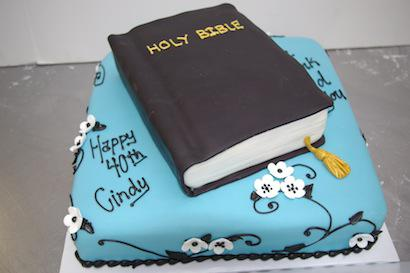 12 Bible Anniversary Cakes Photo Birthday Bible Cake Design Happy