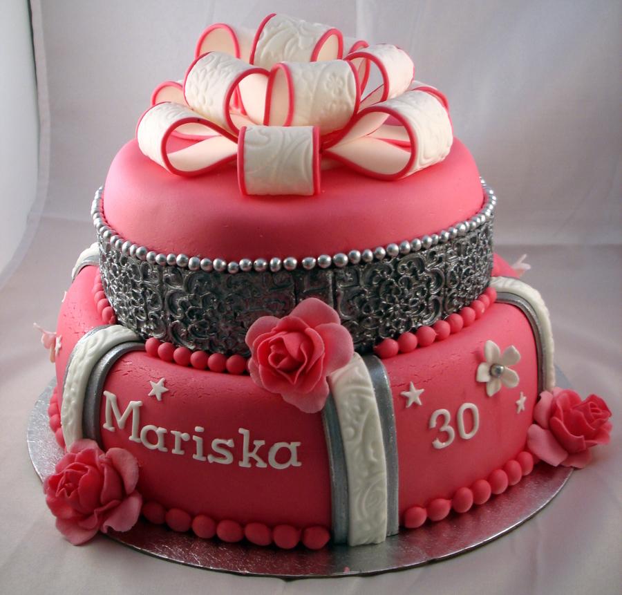 10 Birthday Cakes For Elderly Women Photo Birthday Cake Designs