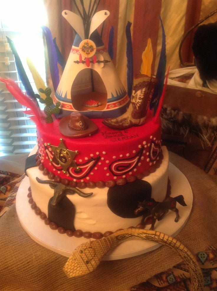 12 Native American Youth Birthday Cakes Photo Native American