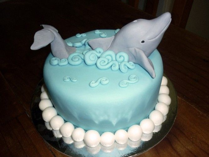 Magnificent 8 Dolphin And Whale Cakes Photo Beluga Whale Birthday Cake Funny Birthday Cards Online Necthendildamsfinfo