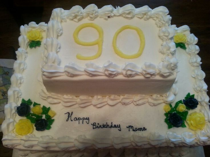 Elderly Birthday Cake Ideas