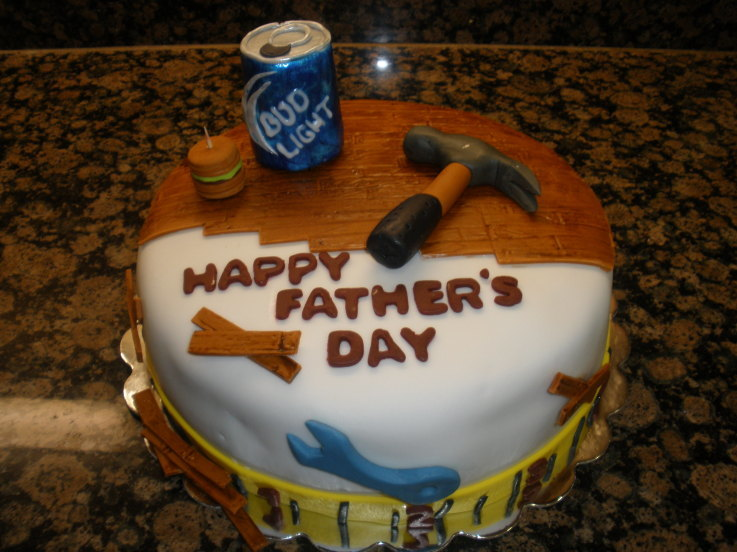 Father's Day Cake Idea