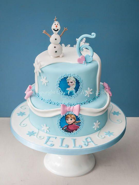 12 Frozen Castle Cakes For Girls Photo Frozen Birthday Cake Ideas