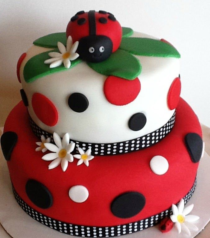 Stupendous 7 Ladybug Princess Cakes Photo Ladybug Birthday Party Cake Personalised Birthday Cards Cominlily Jamesorg