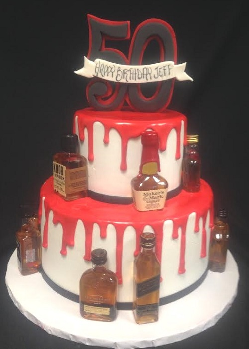 9 Liquor Themed Cakes Photo Alcohol Crown Royal Bottle Cake