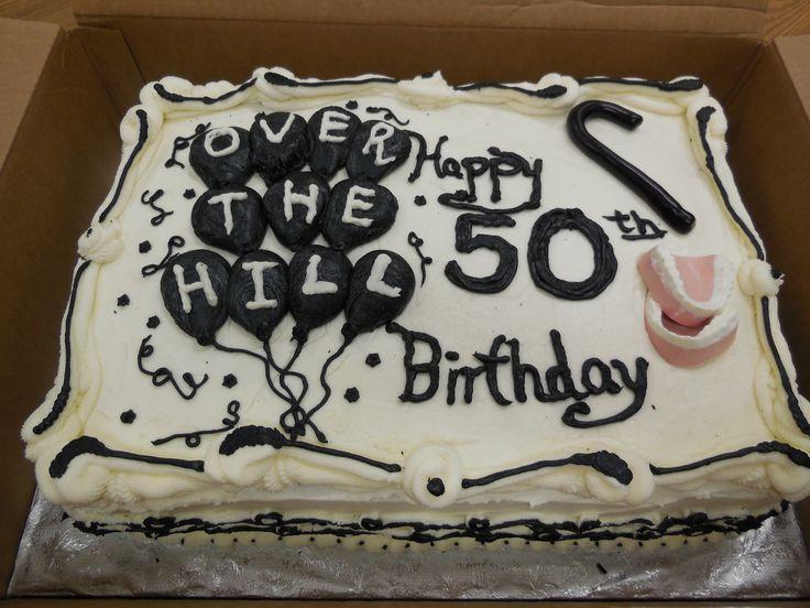 Terrific 11 Over 50 Birthday Cakes Photo Man 50Th Birthday Cake Ideas Birthday Cards Printable Opercafe Filternl
