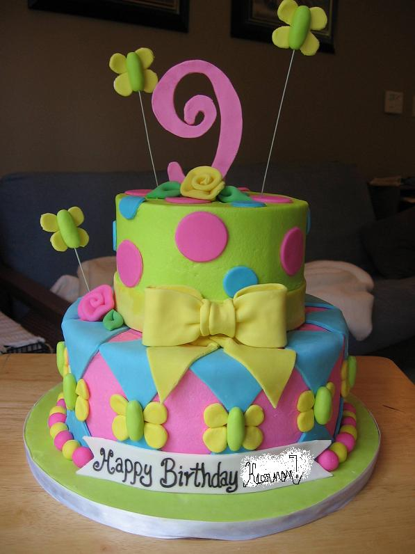 Astounding 11 9Th Birthday Cakes For Girls Photo Martha Stewart Birthday Funny Birthday Cards Online Overcheapnameinfo