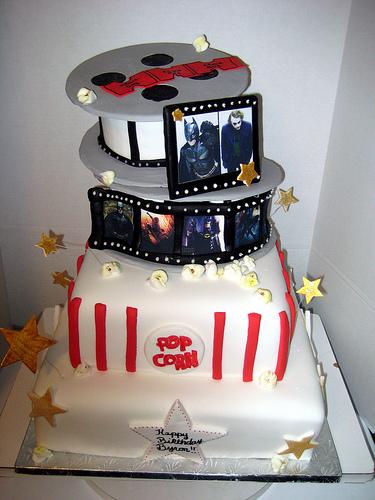 9 Movie Star Wedding Cakes Photo Movie Themed Cake Ideas Movie