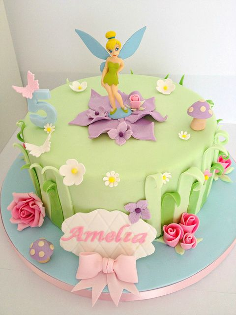 11 Tinker Bell Birthday Party Cakes Photo Tinkerbell Themed