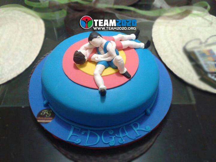 11 Birthday Cakes Wrestling In Alabama Photo Wrestling Birthday