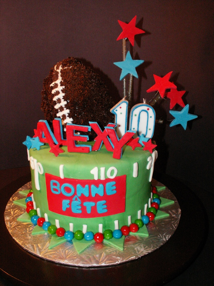 7 Ages 10 Boys Birthday Cakes Photo Year Old