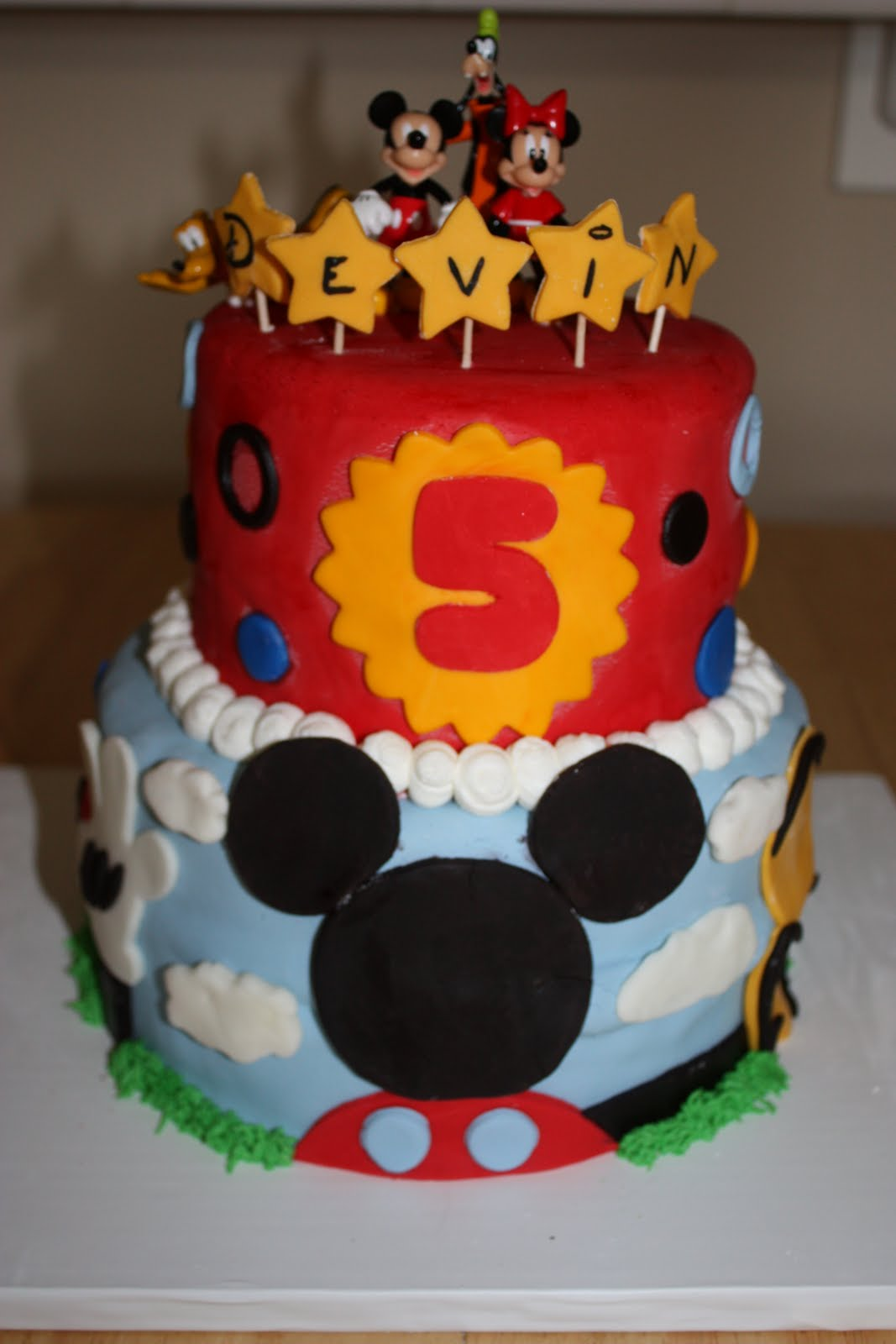 7 16 Birthday Cakes For Boys 5 Years Old Photo 5 Year Old Boy