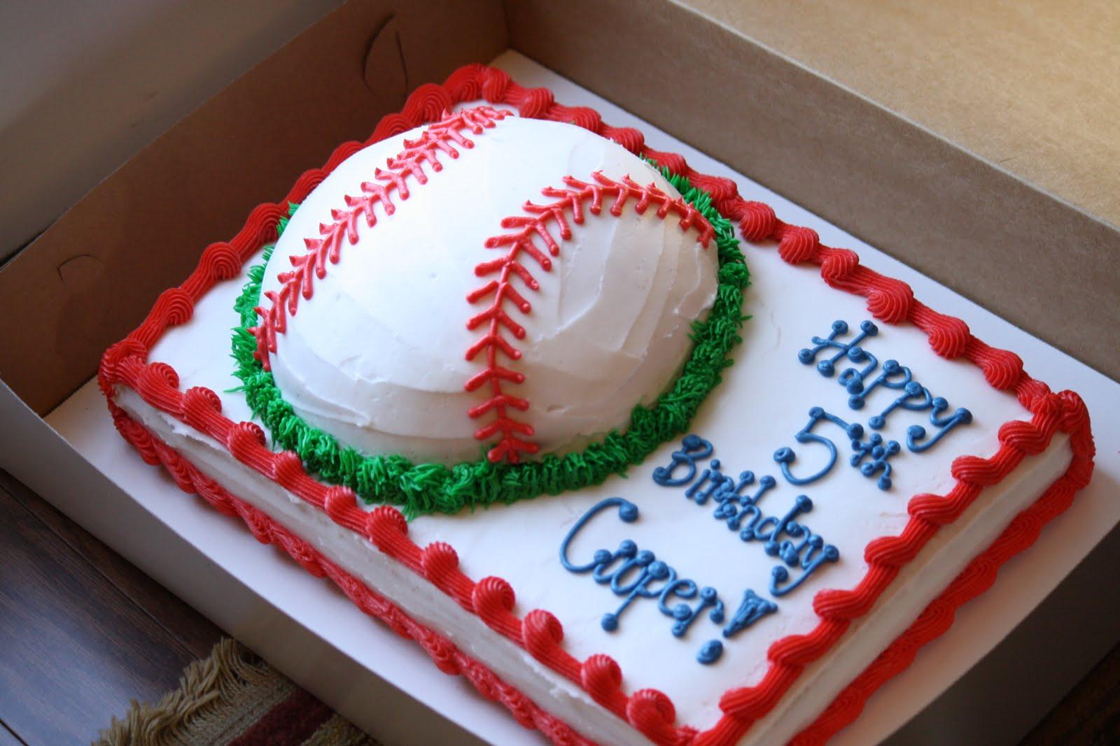 8 Toy Birthday Cakes For Baseball Players Photo Baseball Theme