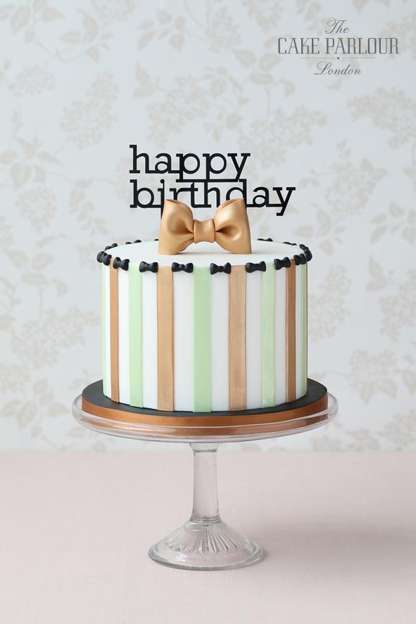 Elegant Happy Birthday Cakes For Men