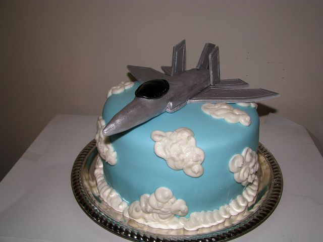 13 Jet Army Birthday Cakes Photo Fighter Jets Birthday Cake
