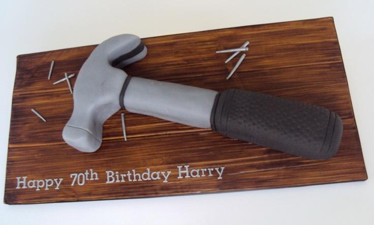 13 Hammer Birthday Cakes Photo
