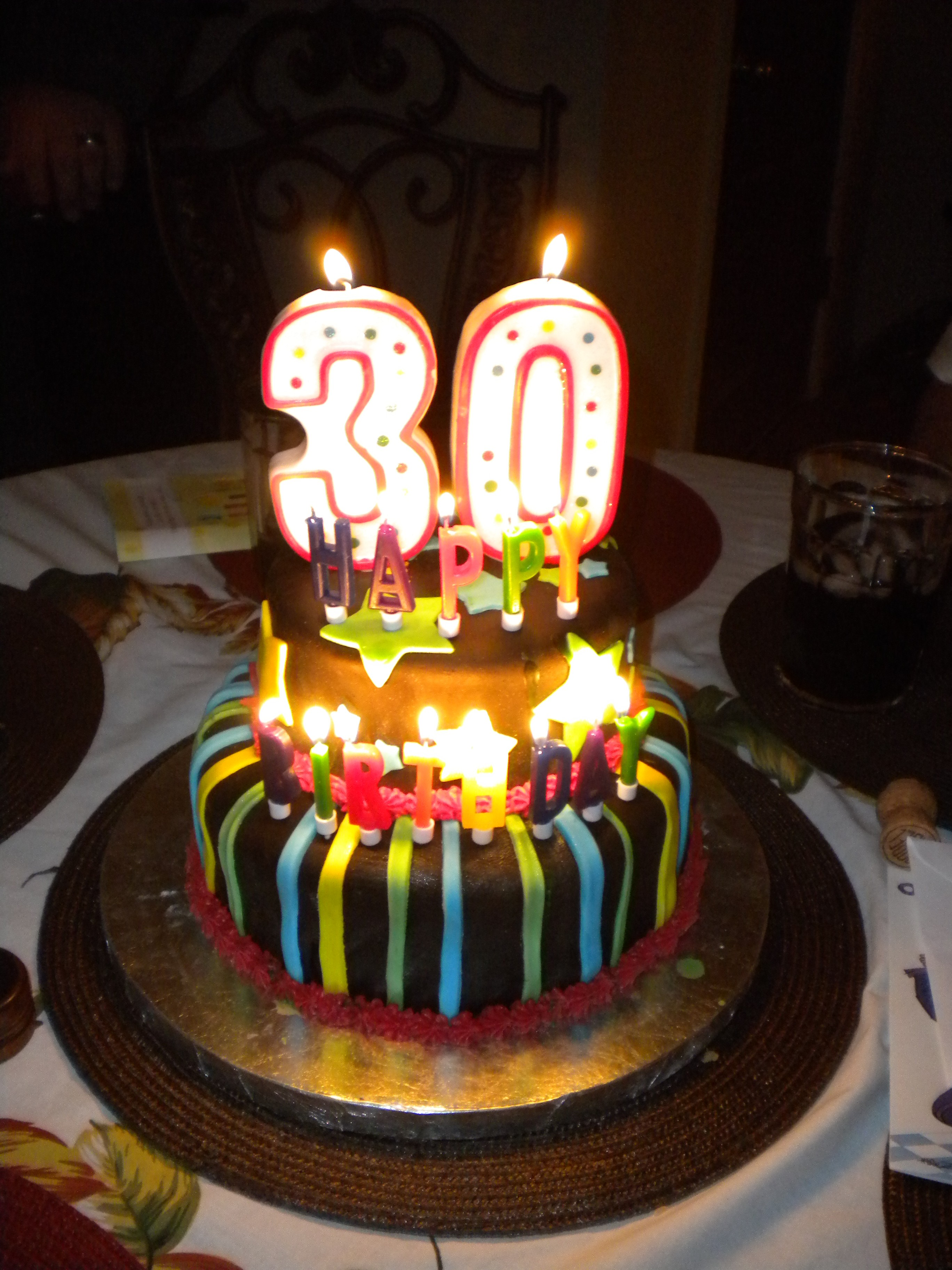 5 Photos Of Happy 30th Birthday Cakes With Name
