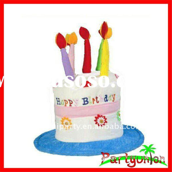 Happy Birthday Cake Hat Adult