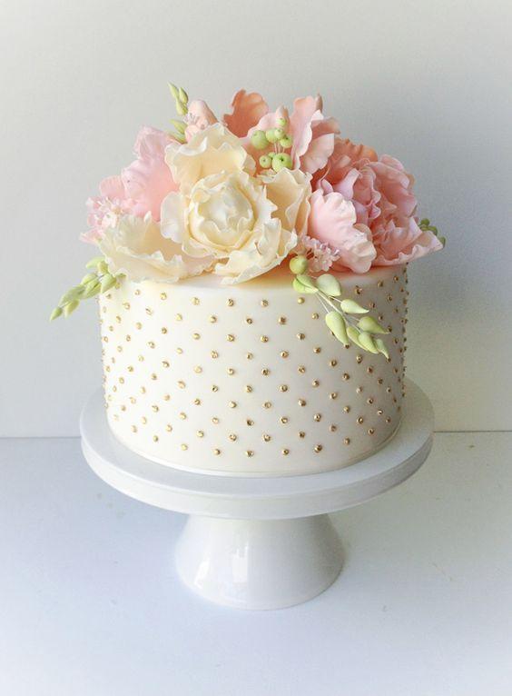 9 fondant flower cakes photo hello may cake with fondant and hello may mightylinksfo