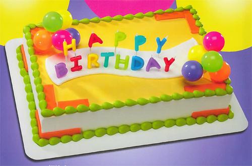 Ingles Bakery Birthday Cakes