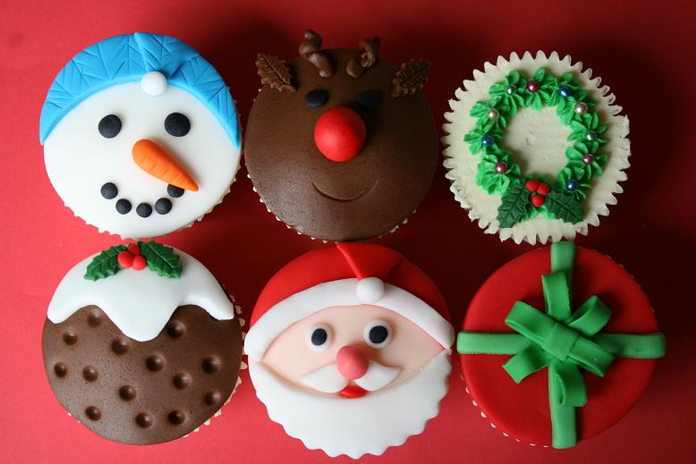 kids christmas cupcake ideas