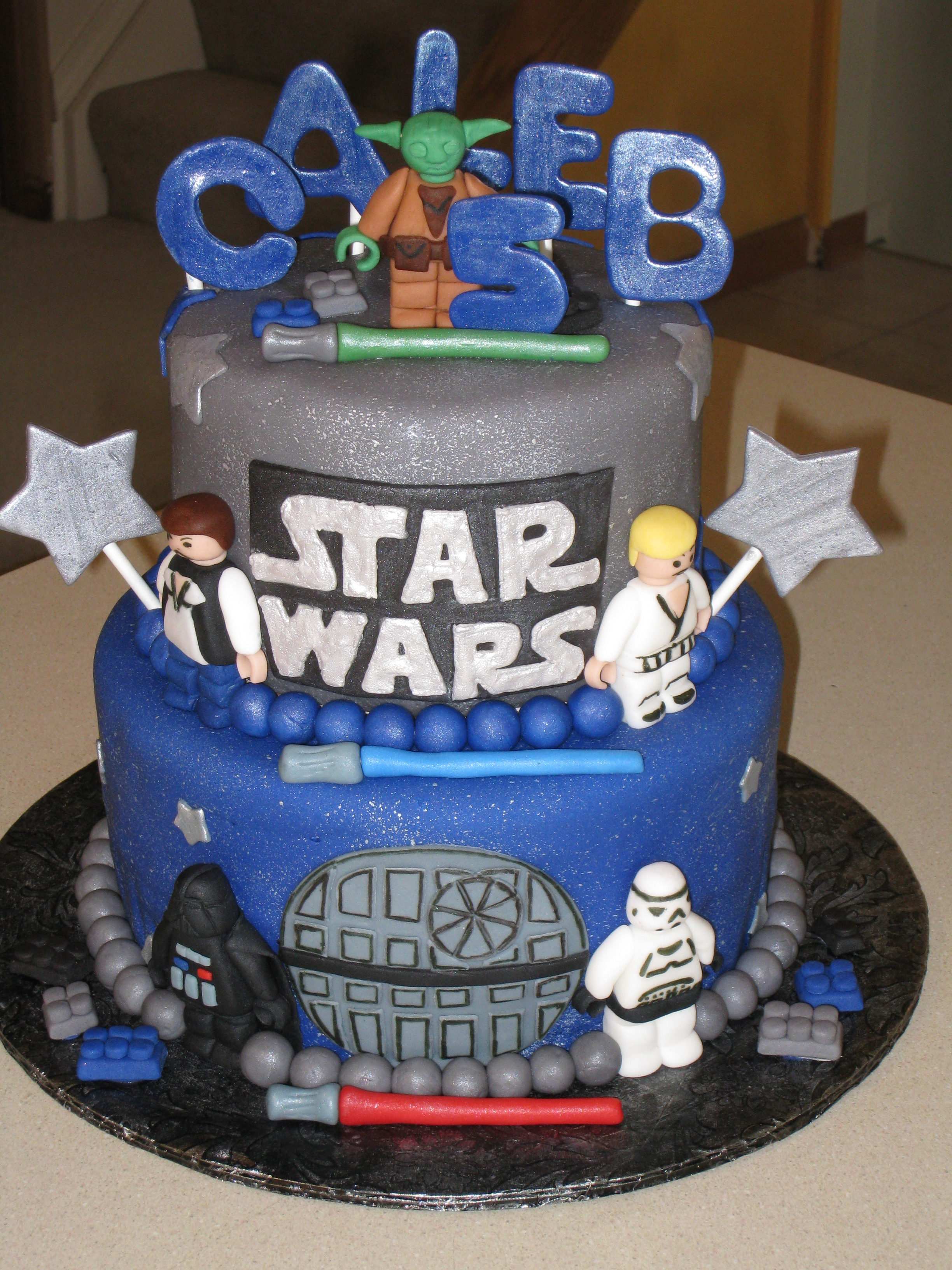 Awesome 8 Pitchers Of Star Wars Cakes Photo Lego Star Wars Cake Ideas Birthday Cards Printable Giouspongecafe Filternl