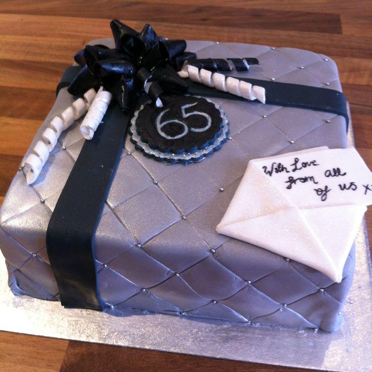 Man 65th Birthday Cake