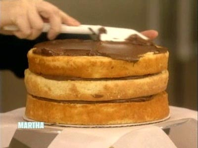 Martha Stewart Yellow Cake With Chocolate Frosting