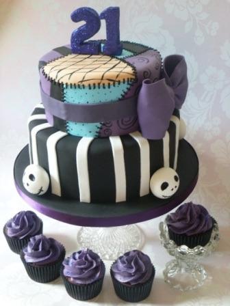 Swell 12 Nightmare Before Christmas Sally Patchwork Cakes Photo Funny Birthday Cards Online Elaedamsfinfo