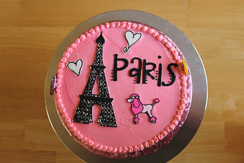 13 Vicky Bakery Cakes For A Girl In Pink Paris Photo Paris