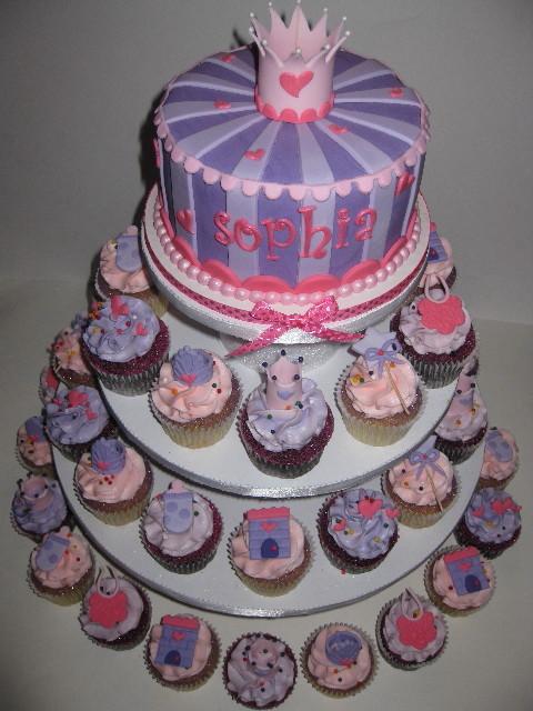 Sensational 11 Princess Sophia Cupcake Cakes Photo Princess Dress Pull Apart Funny Birthday Cards Online Inifodamsfinfo