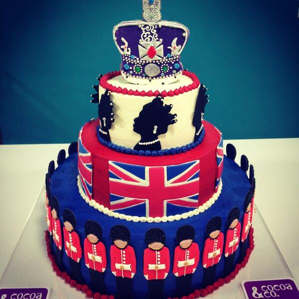 Queen Elizabeth Birthday Cake