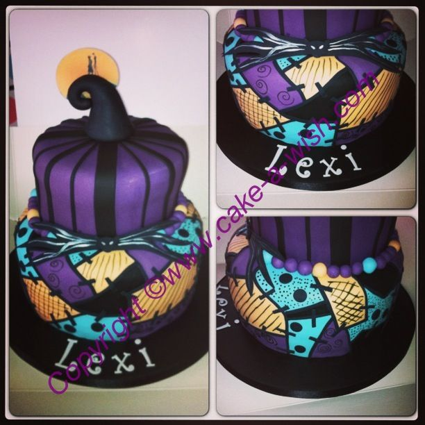 sally nightmare before christmas birthday cakes