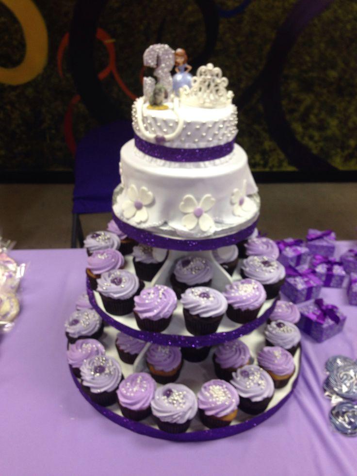 11 Princess Sophia Cupcake Cakes Photo Princess Dress Pull Apart
