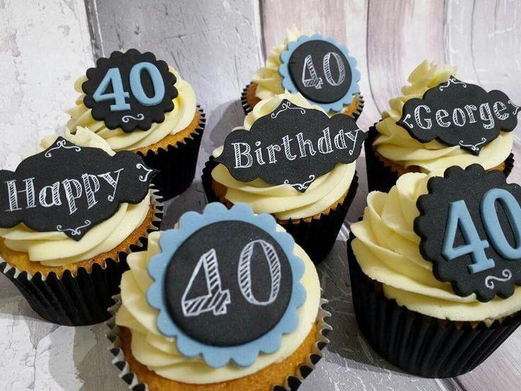 50th Birthday Cupcake Ideas For Men