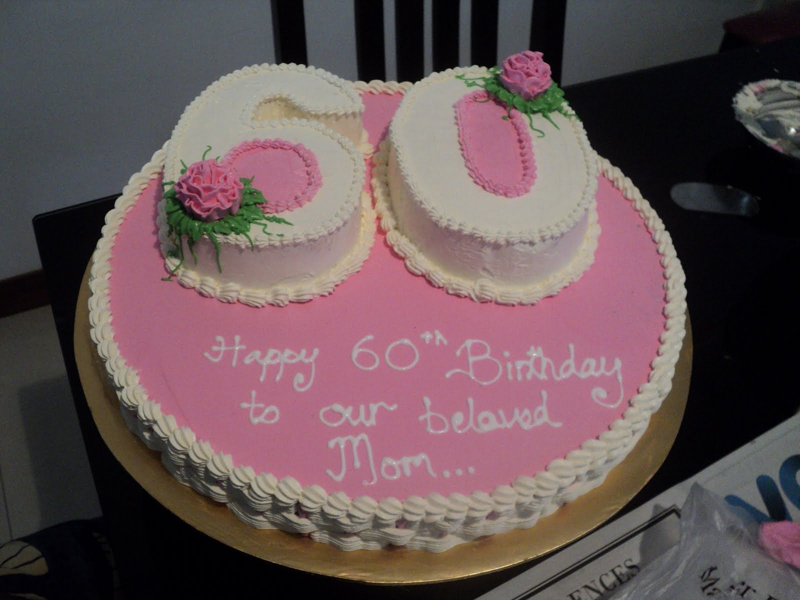 11 60th Birthday Cupcake Cakes For Women Photo 60th Birthday Cake