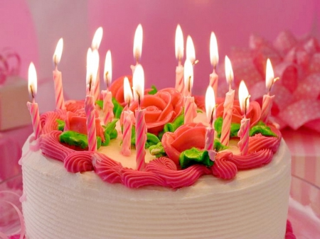 Beautiful Birthday Cakes With Flowers