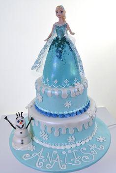 10 Bing Frozen Cakes Photo Anna and Elsa Disney Frozen Cake