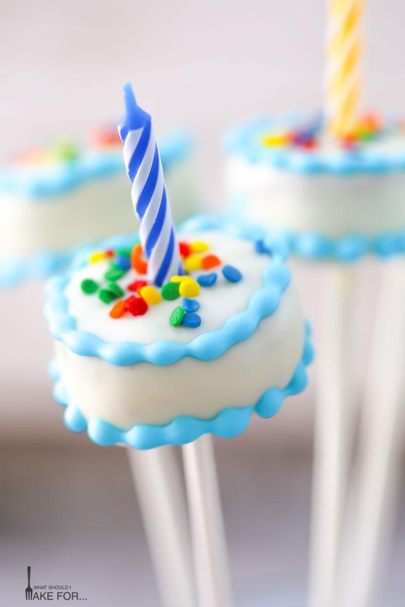 Outstanding 7 Birthday Pop Cakes Photo Cake Pop Birthday Idea Birthday Cake Funny Birthday Cards Online Alyptdamsfinfo