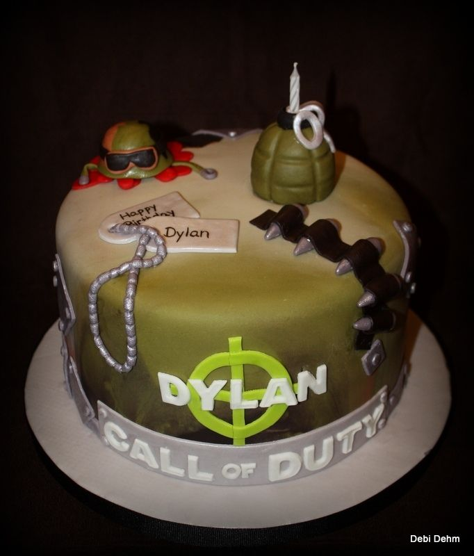 Brilliant 12 Call Of Duty Cakes For Boys Photo Call Of Duty Birthday Cake Funny Birthday Cards Online Inifodamsfinfo