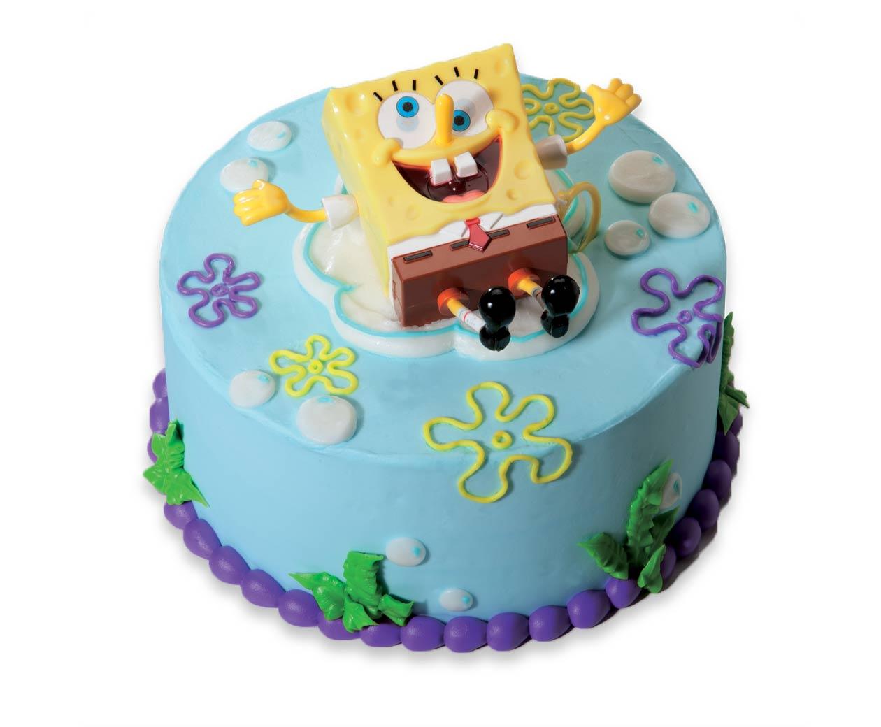 7 Shoprite Custom Cakes Spongebob Photo Cold Stone