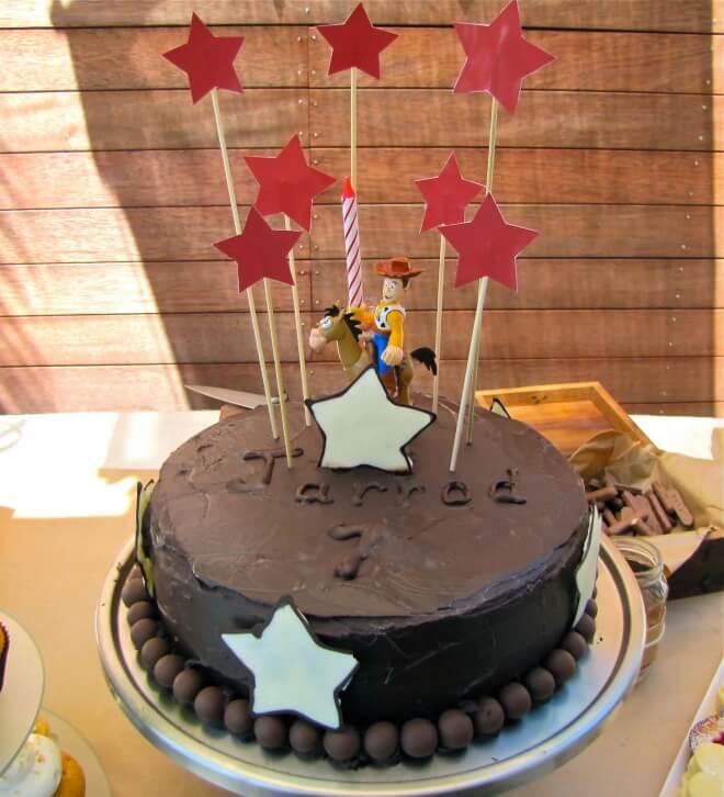Magnificent 11 Easy Birthday Cakes Cowboy Photo Cowboy Birthday Cake Cowboy Funny Birthday Cards Online Alyptdamsfinfo