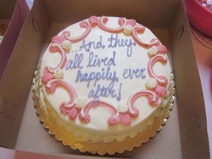 disney bridal shower cake