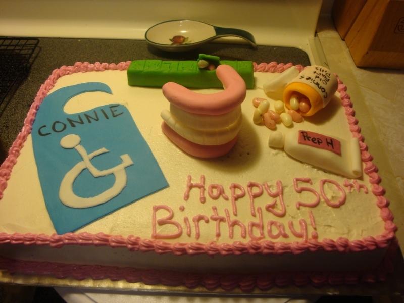 10 Adut Funny 50th Birthday Cakes Photo Funny 50th Birthday Cake
