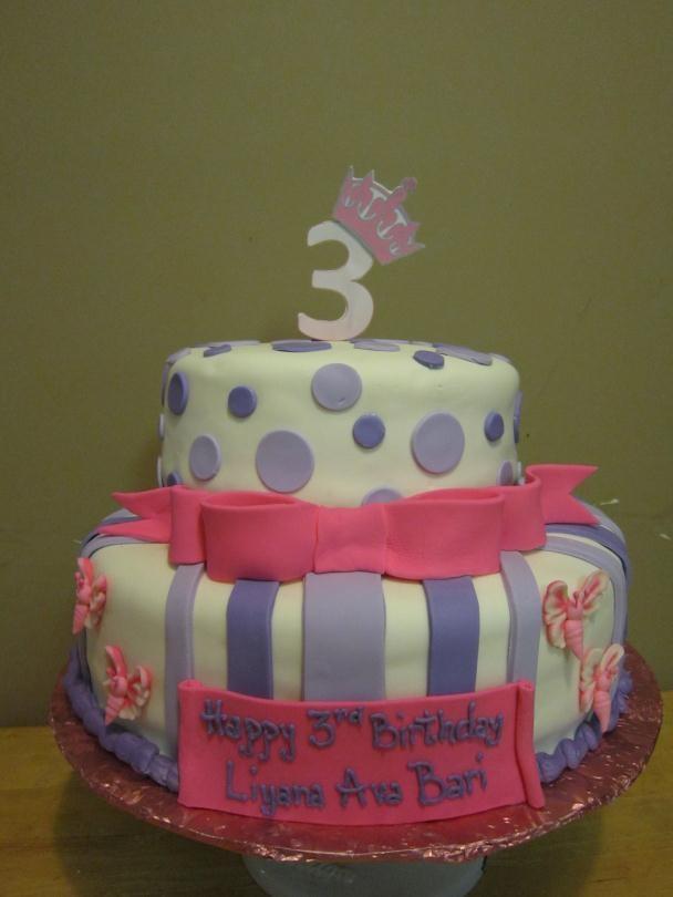 Sensational 10 3Rd Birthday Cakes For Girls Photo Girls 3Rd Birthday Cake 3 Funny Birthday Cards Online Alyptdamsfinfo