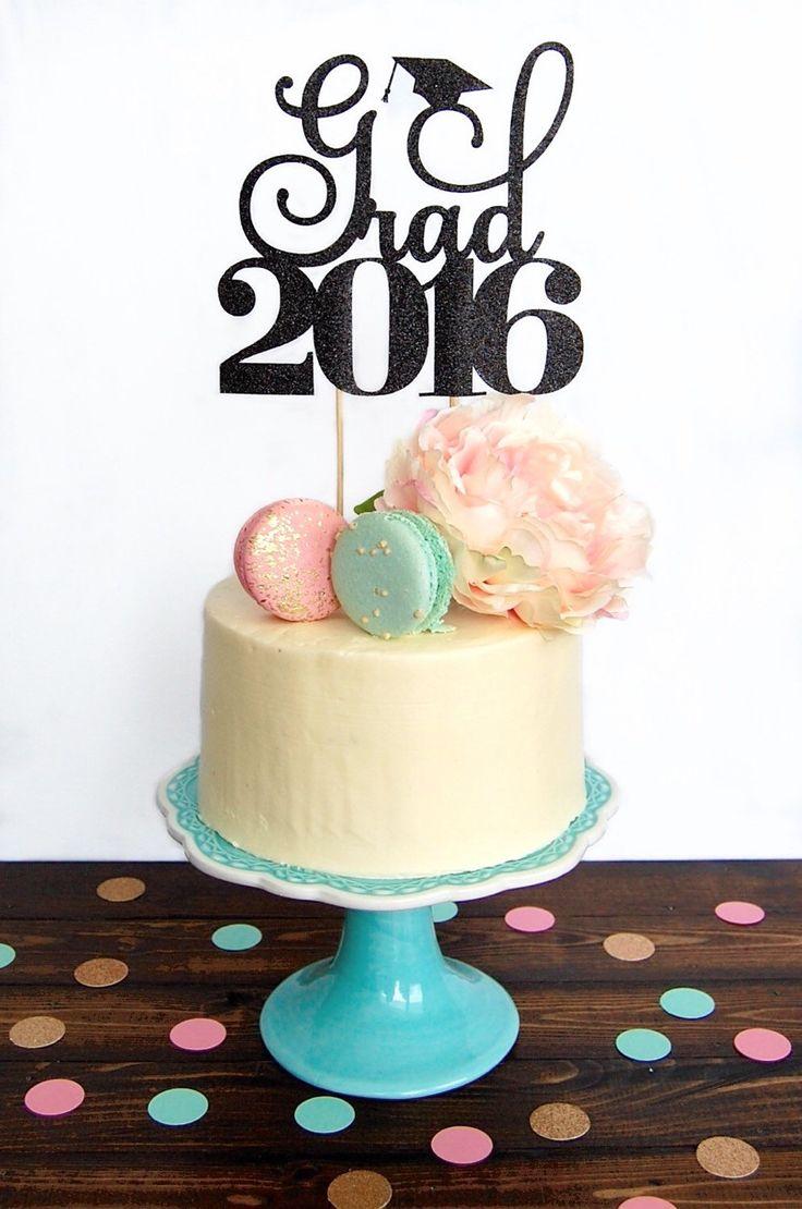 Graduation Cake Topper Decorations