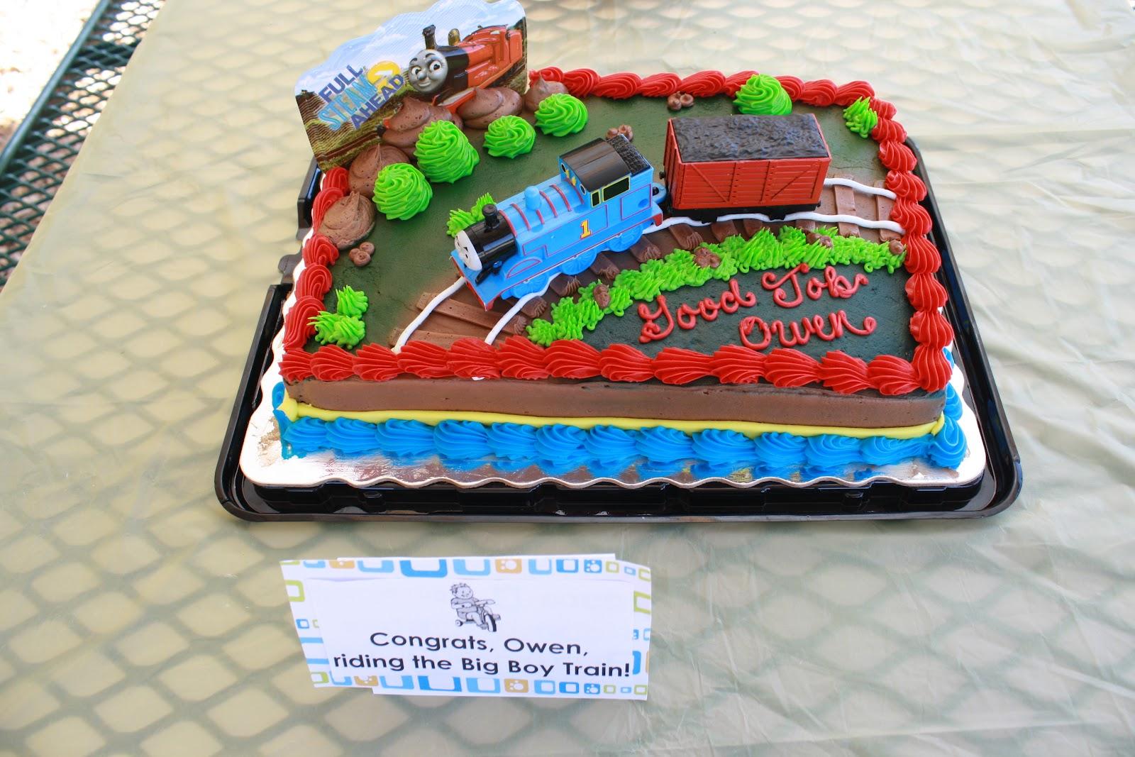 Hannaford Birthday Cakes Trains