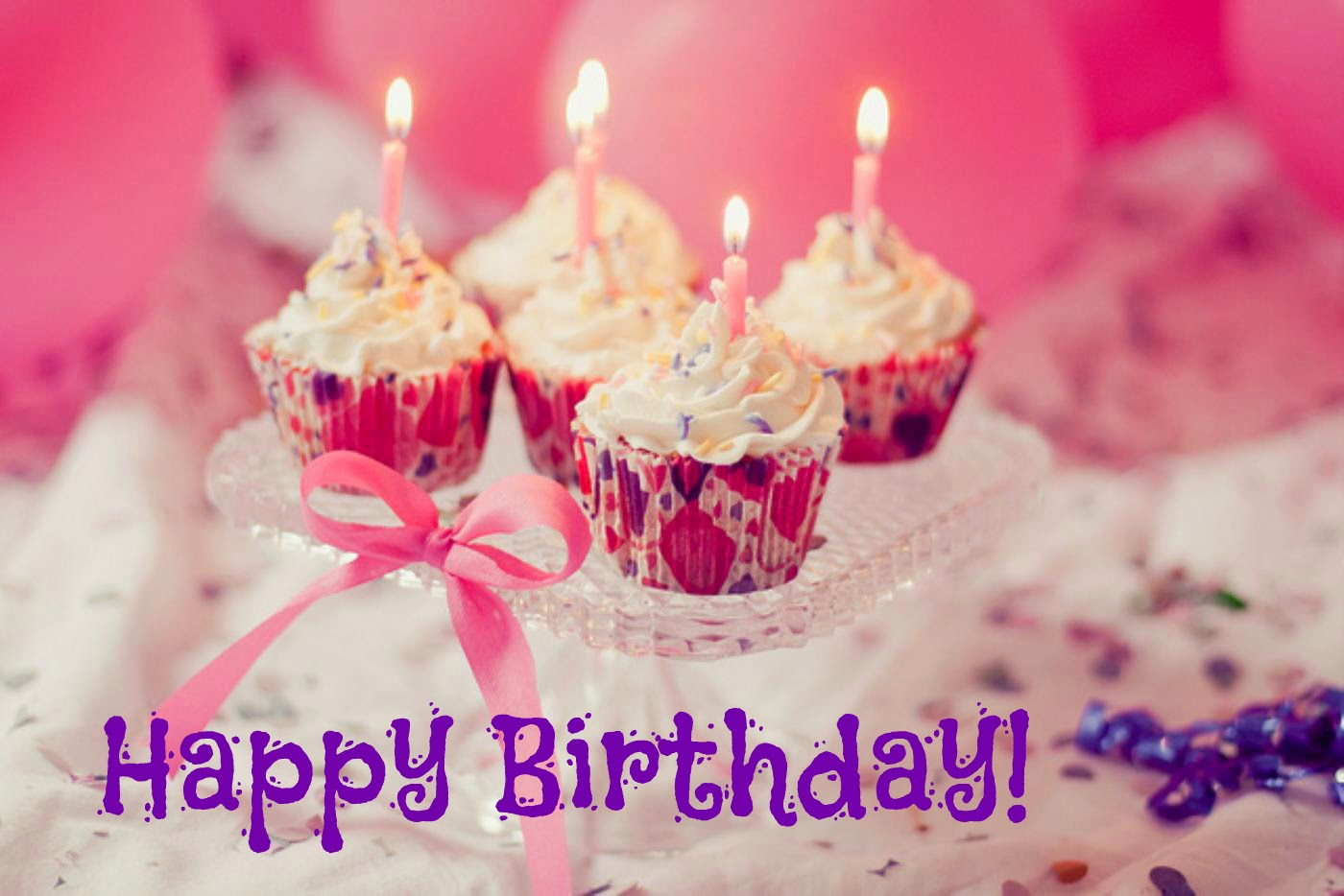 12 Happy Birthday Cakes For Women With Candles Photo Happy