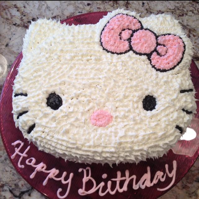 8 Hello Kitty Cakes For 18 Photo Hello Kitty Birthday Cake Hello